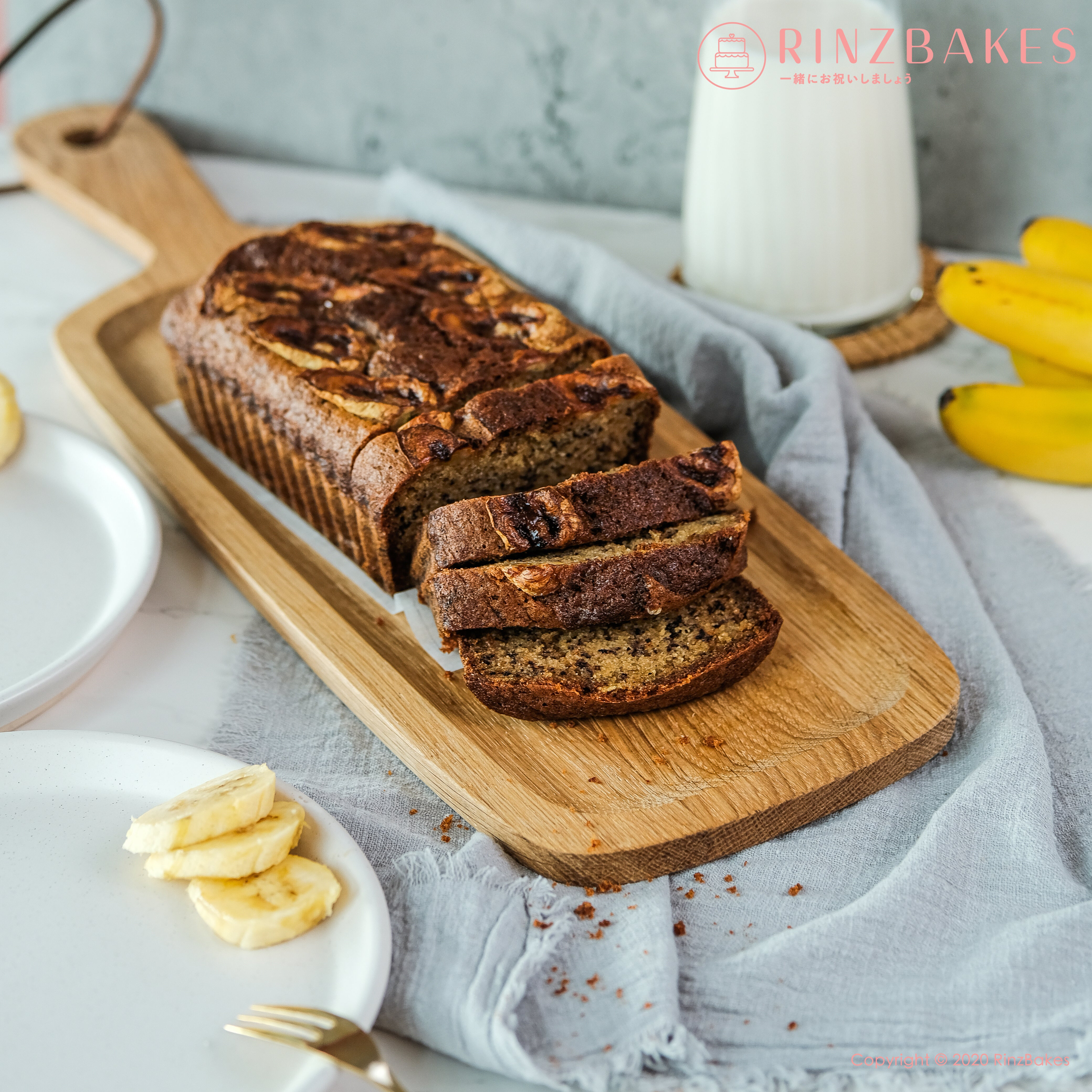 RinzBakes | Banana Loaf  | Birthday Celebration | Gathering | Delivery within Klang Valley (Kuala Lumpur & Selangor) |