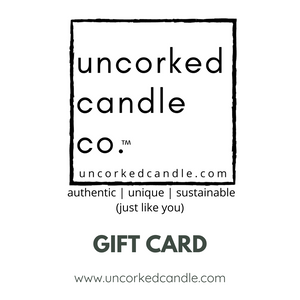 Uncorked Candle Gift Card