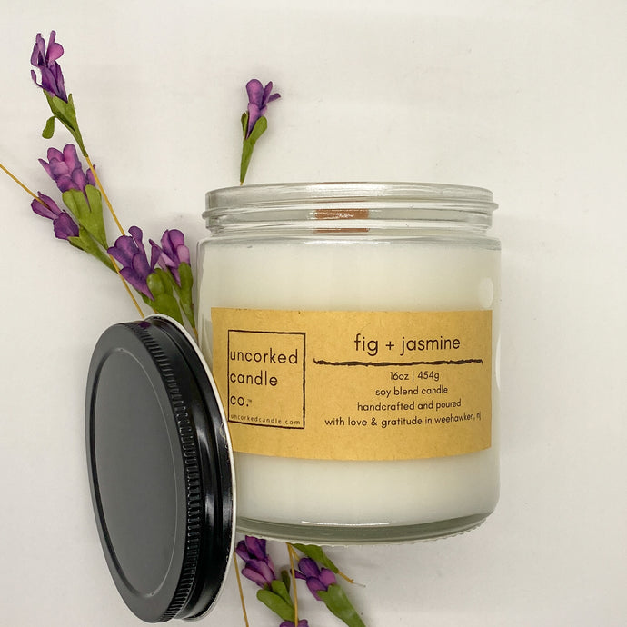 Fig and Jasmine Candle