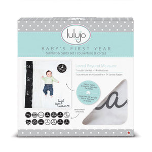 Loved Beyond Measure - Baby's First Year Milestone Set