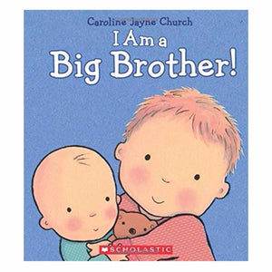 I Am a Big Brother - Hardcover Book