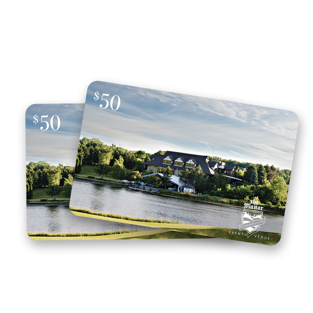The Manor Gift Card