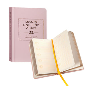 Moms One Line A Day Book