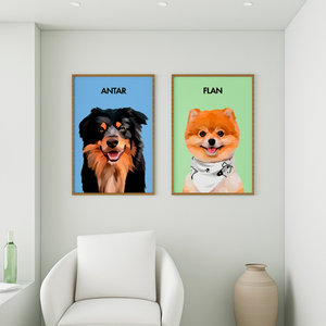 WagCraft™ Custom Pet Poster