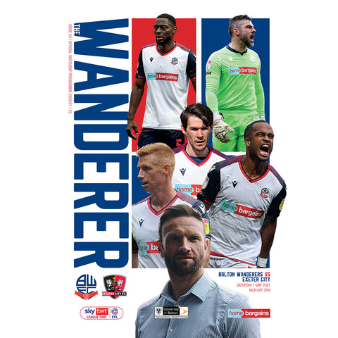 Bolton Wanderers vs Exeter City