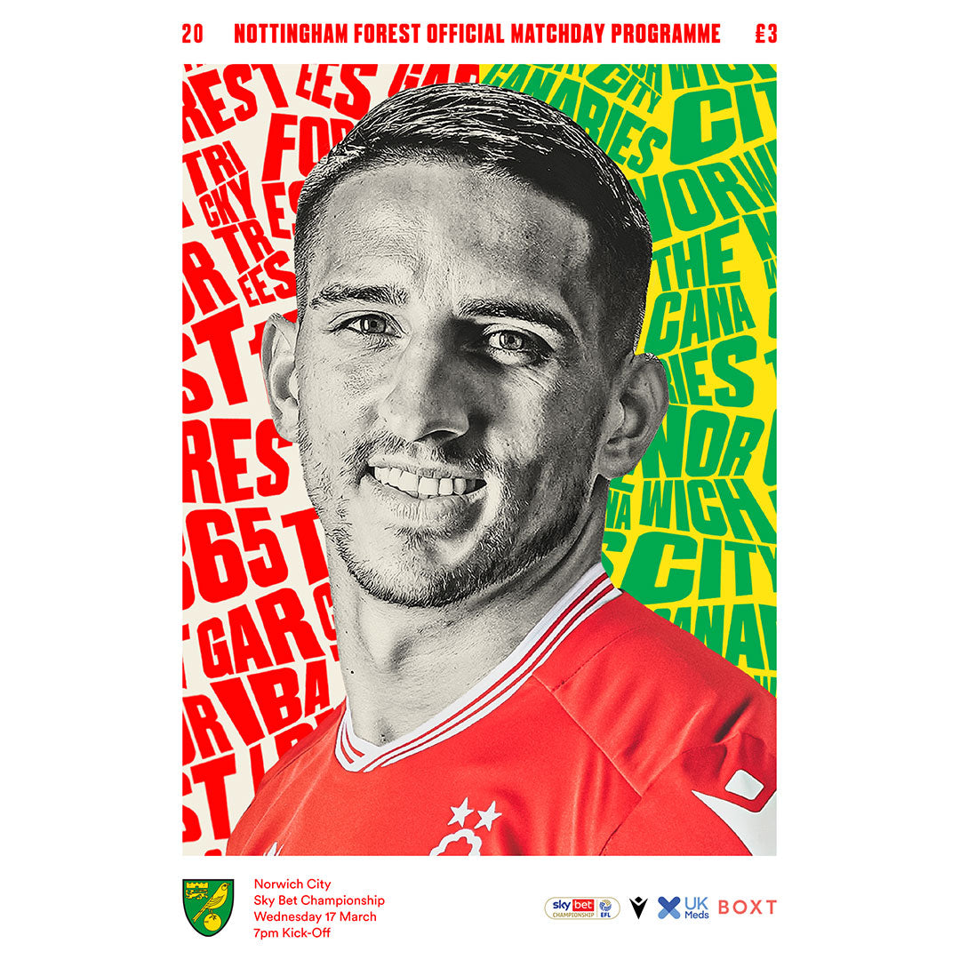 Nottingham Forest vs Norwich City