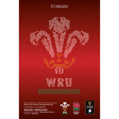 Wales vs England (2021 Six Nations)