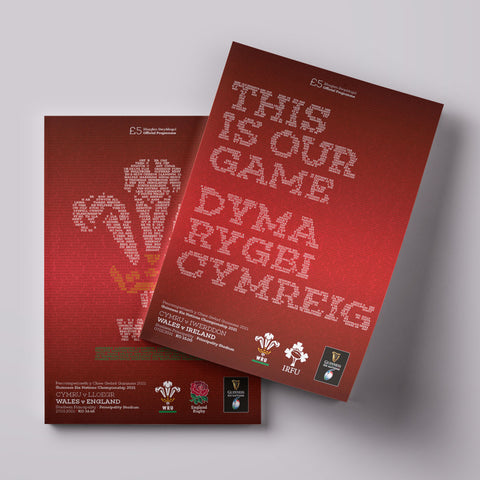Wales 2021 Six Nations Champions set