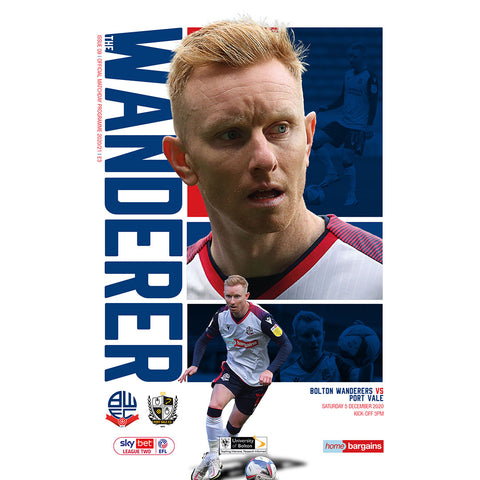 Bolton Wanderers vs Port Vale