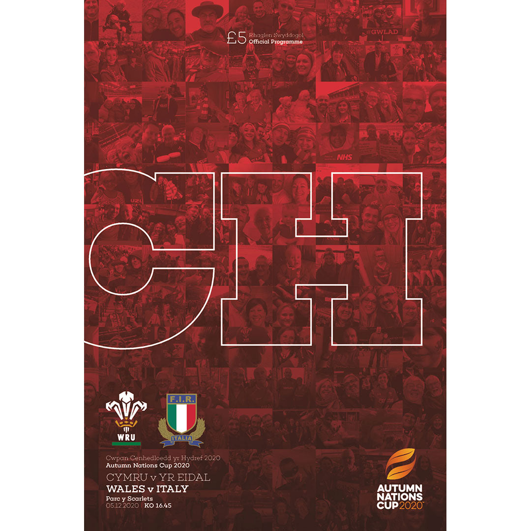 Wales vs Italy (Autumn Nations Cup)