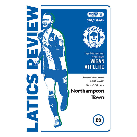 Wigan Athletic vs Northampton Town