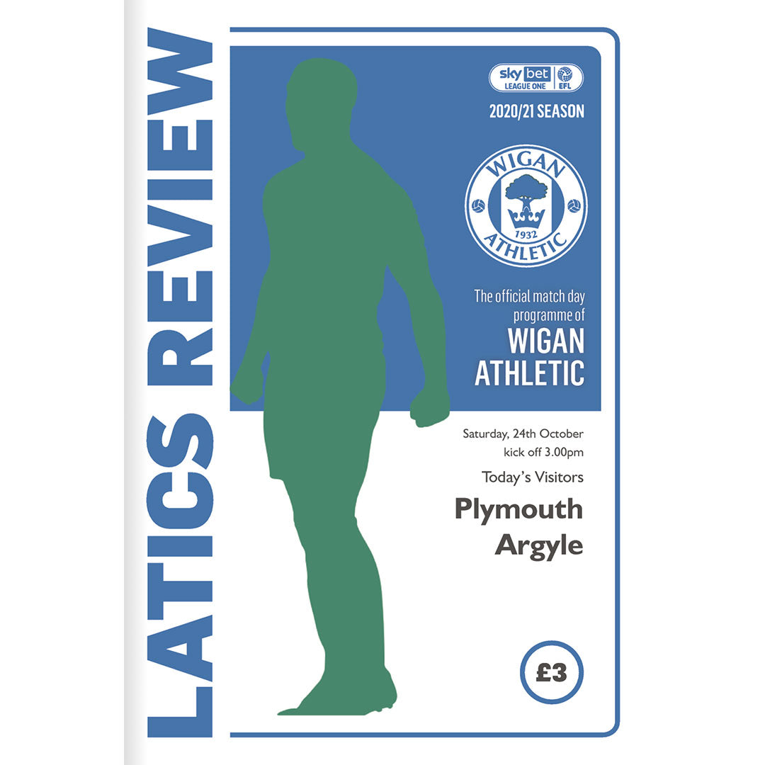 Wigan Athletic vs Plymouth Argyle
