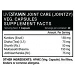 Livestamin Jointzy Joint Care Health Supplement - 60 Vegetarian Capsules
