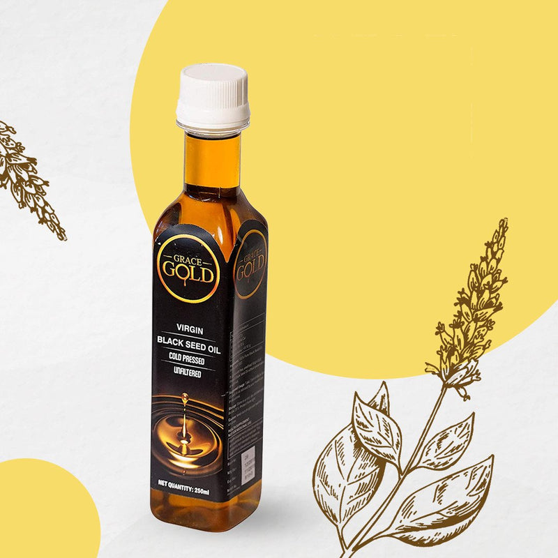 Grace Gold's Virgin Cold Pressed Black Seed Oil 250ml