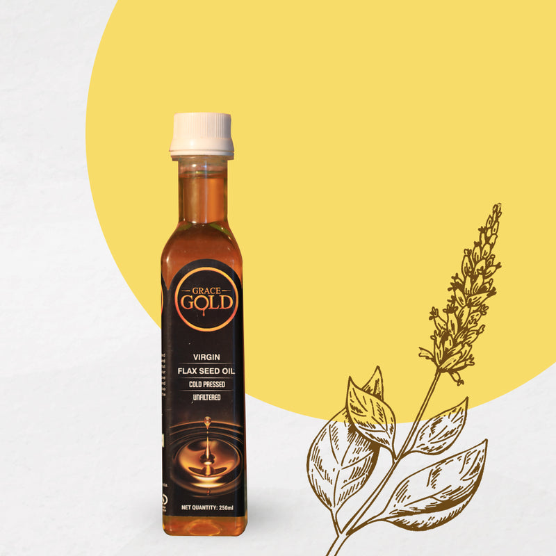 Grace Gold's Virgin Cold Pressed Flaxseed Oil 250ml