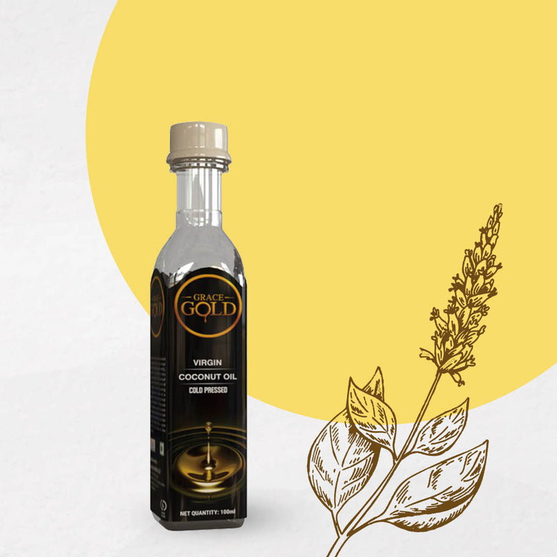 Grace Gold's Virgin Cold Pressed Coconut Oil 500 ML