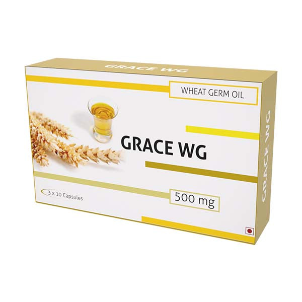 Nutra Grace-Wg Wheat Germ Oil 500Mg Capsules