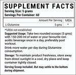 Livestamin Micronized L Glutamine Powder Supplement - 300 grams (Unflavoured, 60 Servings)