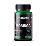 Livestamin Moringa Leaf Extract 500 mg - 60 Vegetarian Capsules