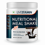 Livestamin Nutritional Meal Shake Chocolate Flavour Weight Management Supplement - 500gms
