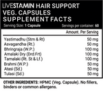 Livestamin Hair Support Capsules