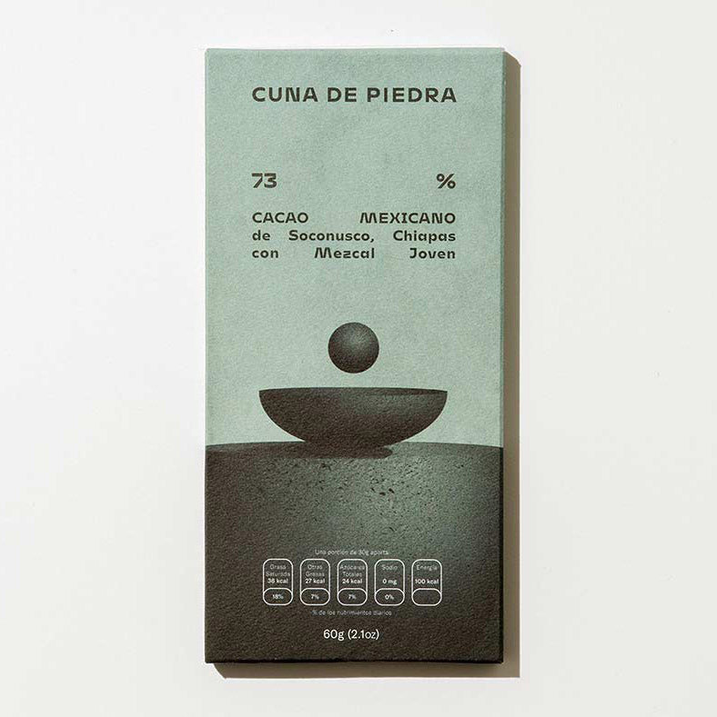 Cuna de Piedra Chocolate Bar 73%