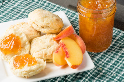 Peach Moonshine Jelly