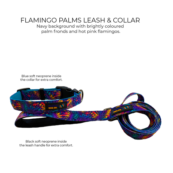 Leash - Flamingo Palms