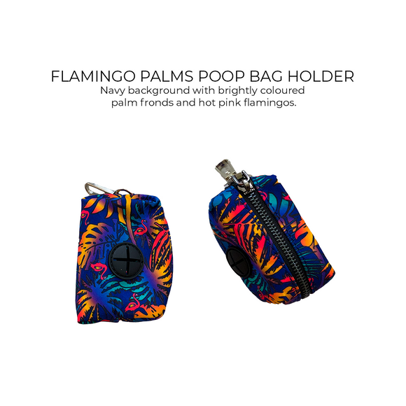 Flamingo Palms - Poop Bag Holder