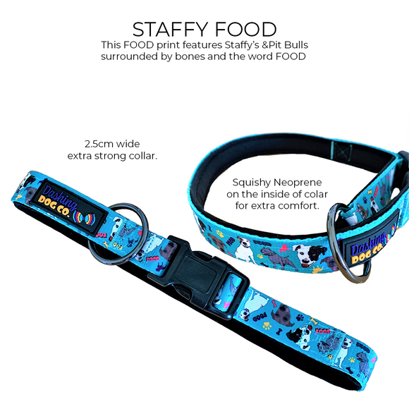 Staffy Food - Collar
