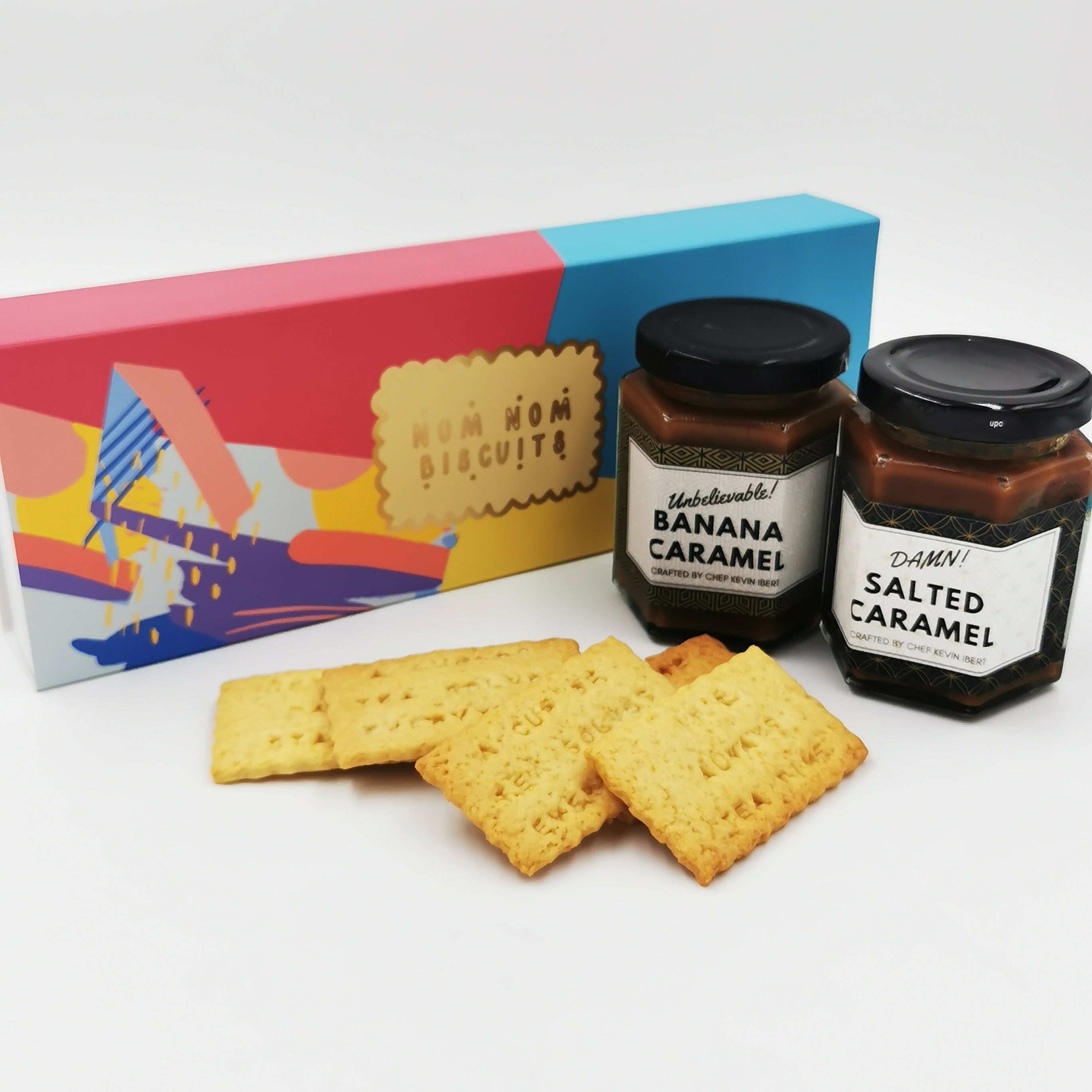 Nomnom Biscuits & Spreads Gift Set