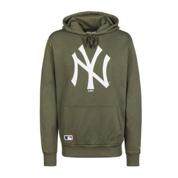 Sweat à capuche homme New Era TEAM LOGO HOODY Vert
