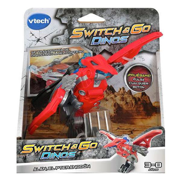 Véhicule transformers Switch Go Dinos Vtech