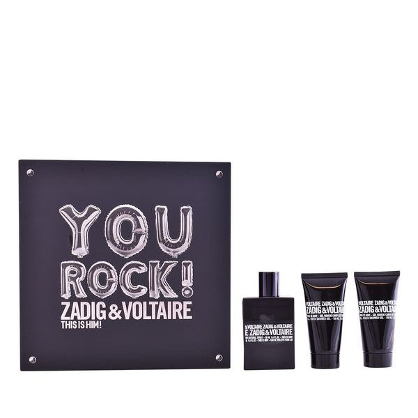 Set de Parfum Homme This Is Him! You Rock! Zadig & Voltaire (3 pcs)
