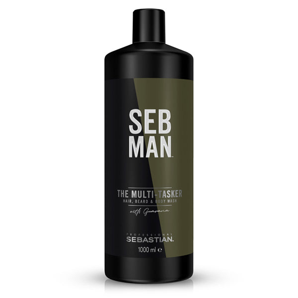 Shampooing The Multitasker Seb Man 3 in 1 (1000 ml)