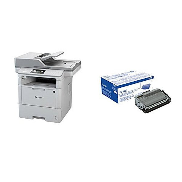 Imprimante Fax Laser Brother MFCL6800DWRF1 46 ppm WIFI LAN FAX