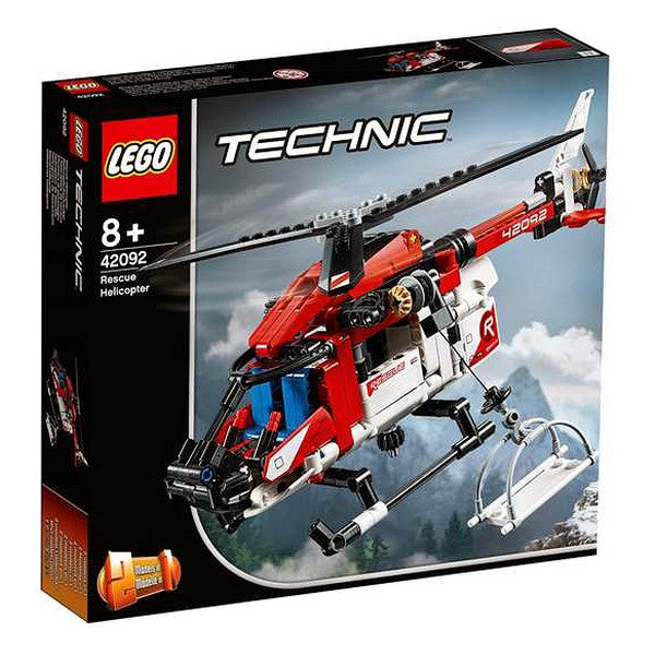 Playset Technic Rescue Helicopter Lego 42092