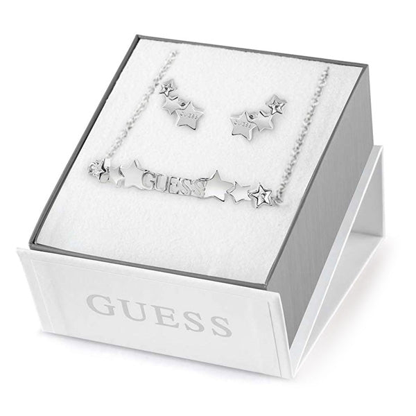 Guess Women's Necklace and Earring Set UBS82109 (21 cm)
