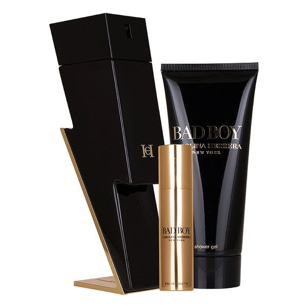 Set de Parfum Homme Carolina Herrera EDT (3 pcs)