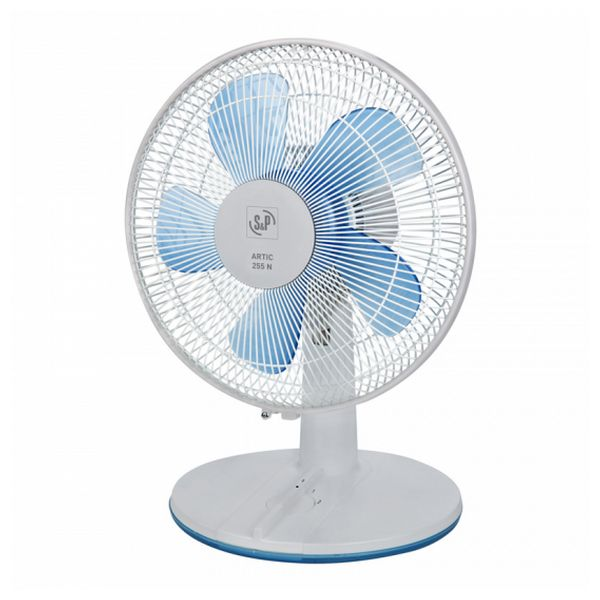 Ventilateur de Bureau S&P ARTIC-255 Gris