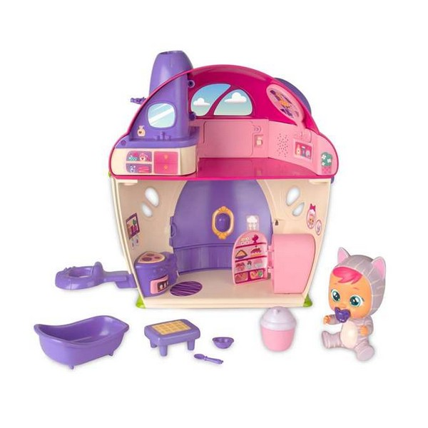 Playset Cry Babies IMC Toys Katie's Super House