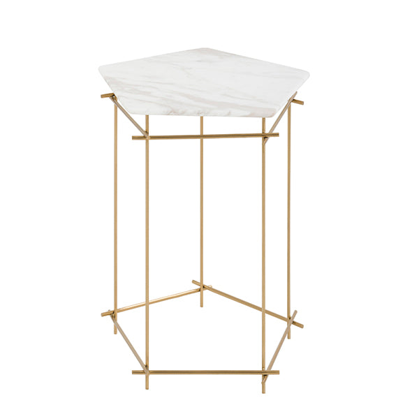 Table d'Appoint Penta Marbre (53 x 51 cm)
