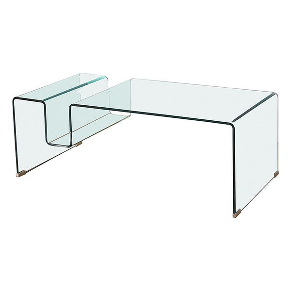 Table Basse Verre bombé (120 x 60 x 43 cm)