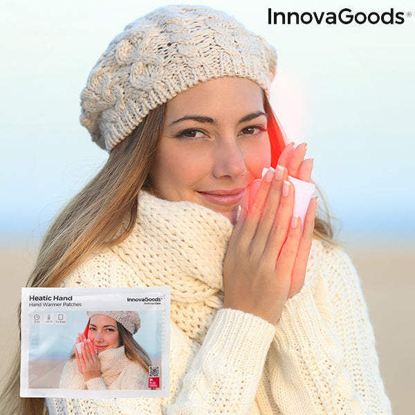 InnovaGoods Heatic Hand Warming Patches (Pack of 10)