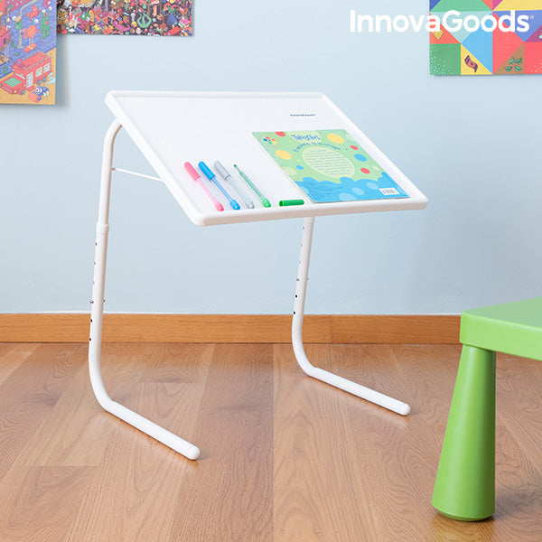 Table d'appoint pliante multi-usage Foldy Table InnovaGoods