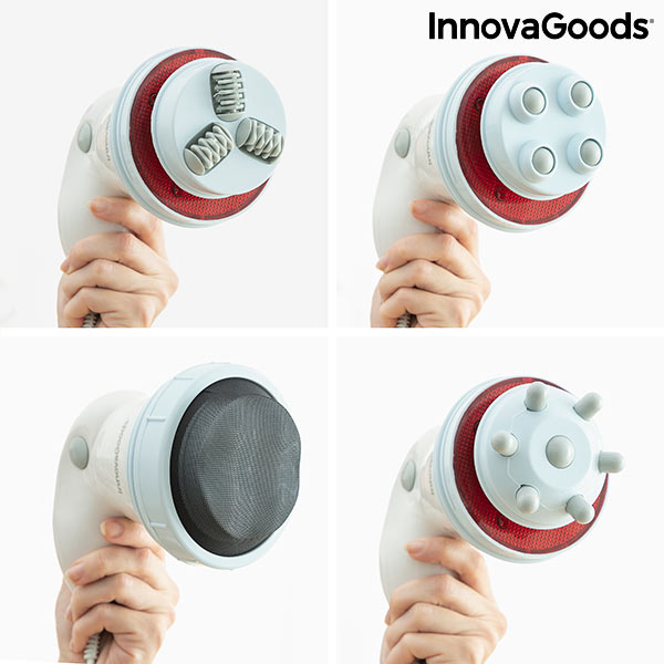 Appareil de Massage Anticellulite à Vibration avec Infrarouges 5 en 1 Cellyred InnovaGoods