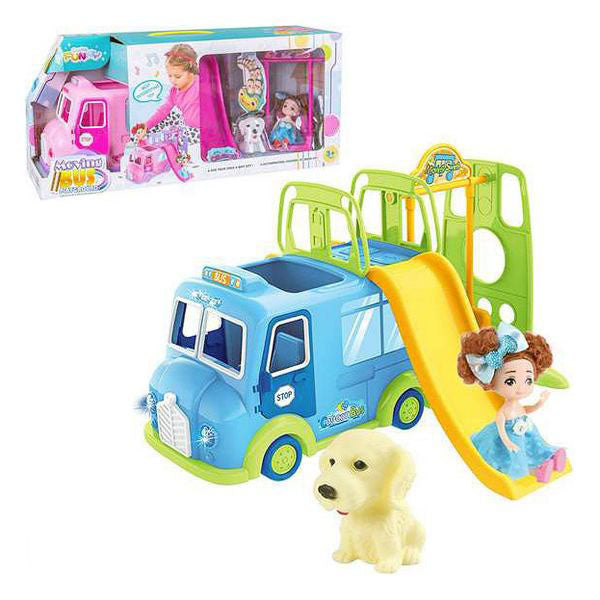 Playset Moving Bus Juinsa (30 x 19 cm)