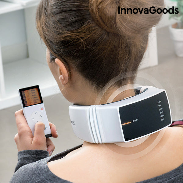 InnovaGoods Rechargeable Neck Massager Pro