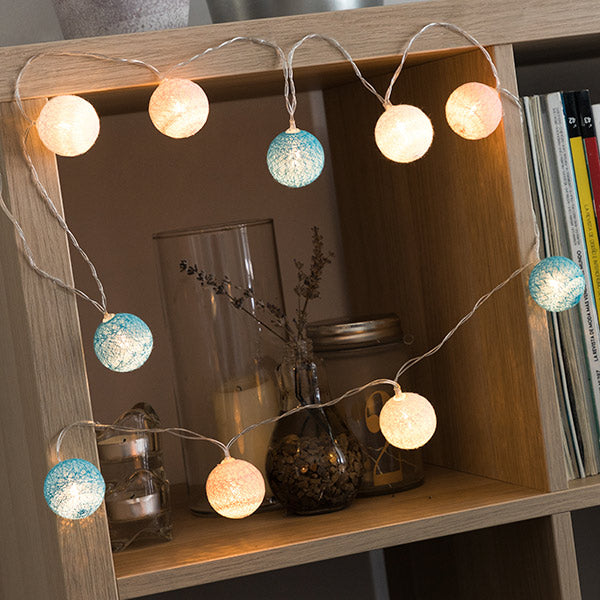 Mini Spheres LED Garland (10 LEDs)