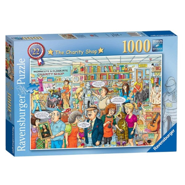"Puzzle  Ravensburger  ""The Charity Shop"" (1000 pcs) (Refurbished A+)"